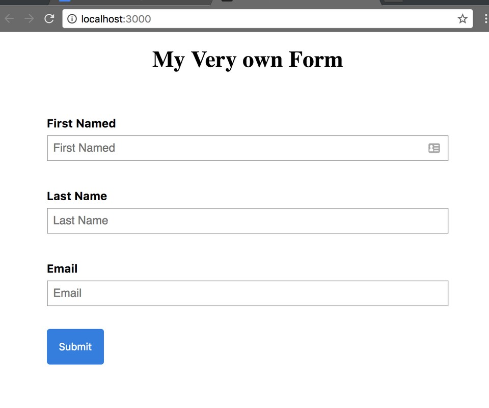 simple styled Redux-form example 2